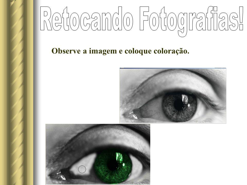 Observe a imagem e coloque coloração.
