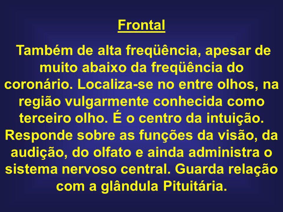 Frontal Também de alta freqüência, apesar de muito abaixo da freqüência do coronário.