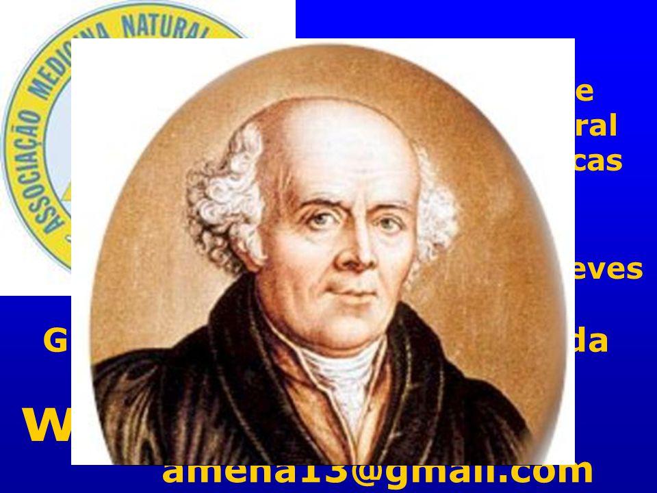 AMENA Associação de Medicina Natural e Bioterapêuticas www.amena.pt amena13@gmail.com Dr. Fernando Neves Grato pela atenção dispensada