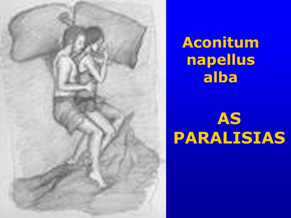 Aconitum napellus alba AS PARALISIAS