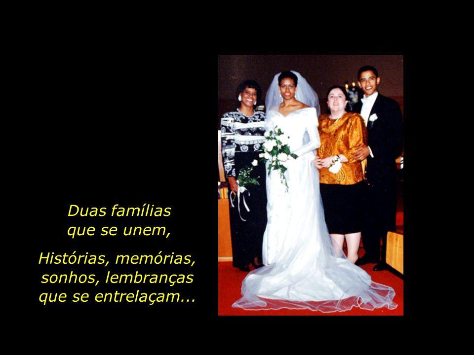 Marian Robinson com sua filha, Michelle Ann Dunham com seu filho, Barack Obama