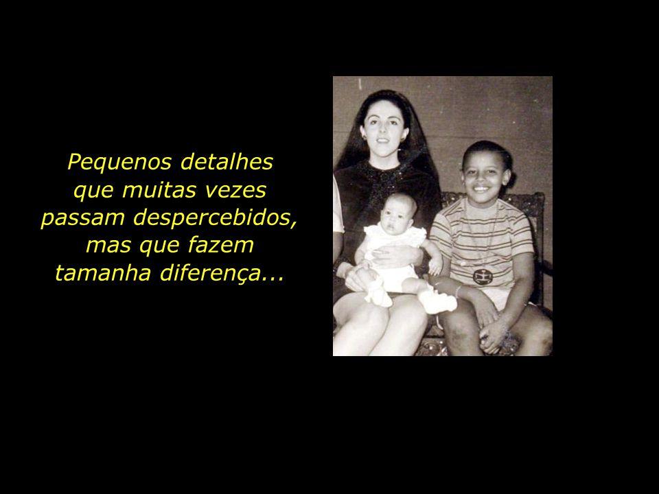 Nunca na frente dos filhos se queixou do amor ou do casamento.