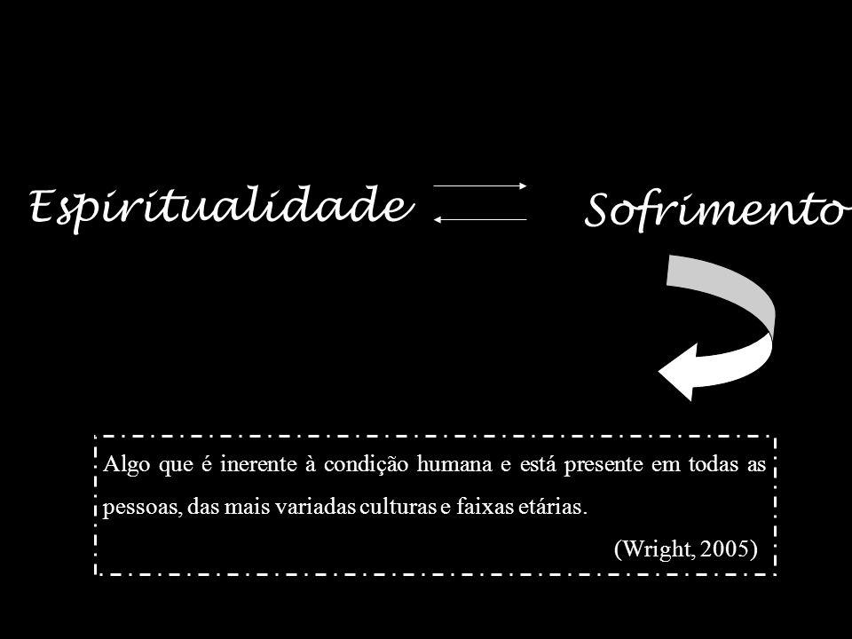14 Propõe uma dicotomia entre a espiritualidade e o sofrimento; Quando a pessoa está numa situação de sofrimento, recorda-se da sua dimensão espiritua