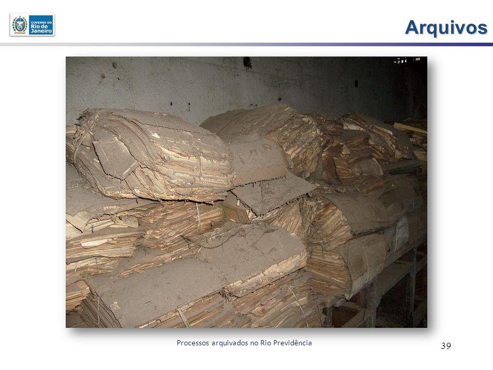 Arquivos 39 Processos arquivados no Rio Previdência