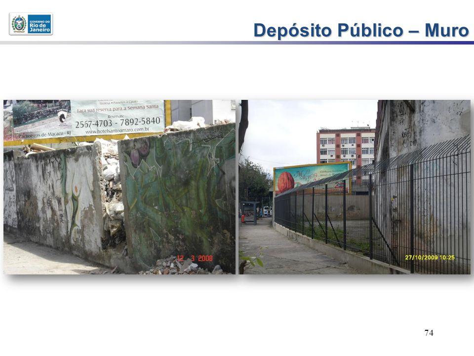 74 Depósito Público – Muro