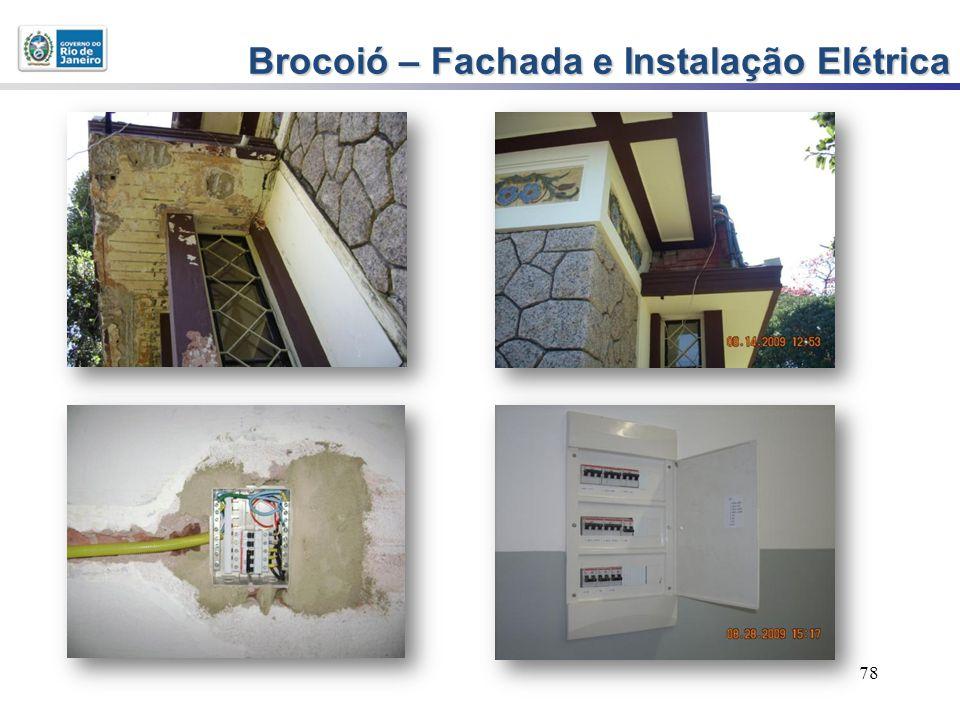78 Brocoió – Fachada e Instalação Elétrica