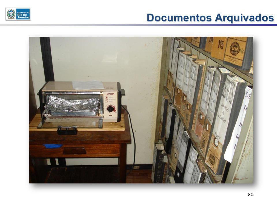 80 Documentos Arquivados