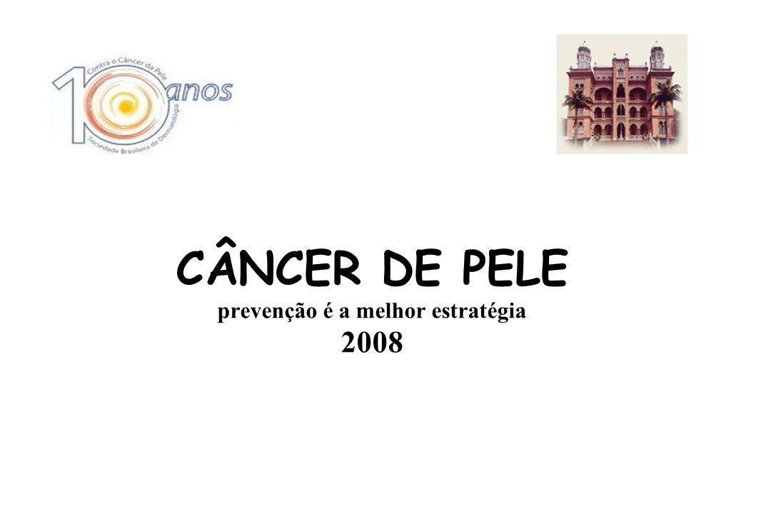 DIA 08/11/08 (sábado) -9:00 às 15:00hs Local: IPEC - FIOCRUZ CAMPANHA NACIONAL DE CÂNCER DE PELE e HANSENÍASE SOCIEDADE BRASILEIRA DE DERMATOLOGIA –SBD 2008