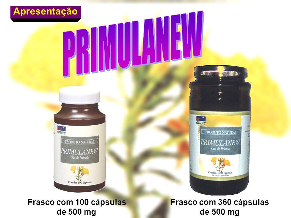 Apresentação Frasco com 100 cápsulas de 500 mg Frasco com 360 cápsulas de 500 mg