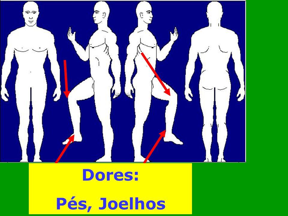 Dores: Pés, Joelhos