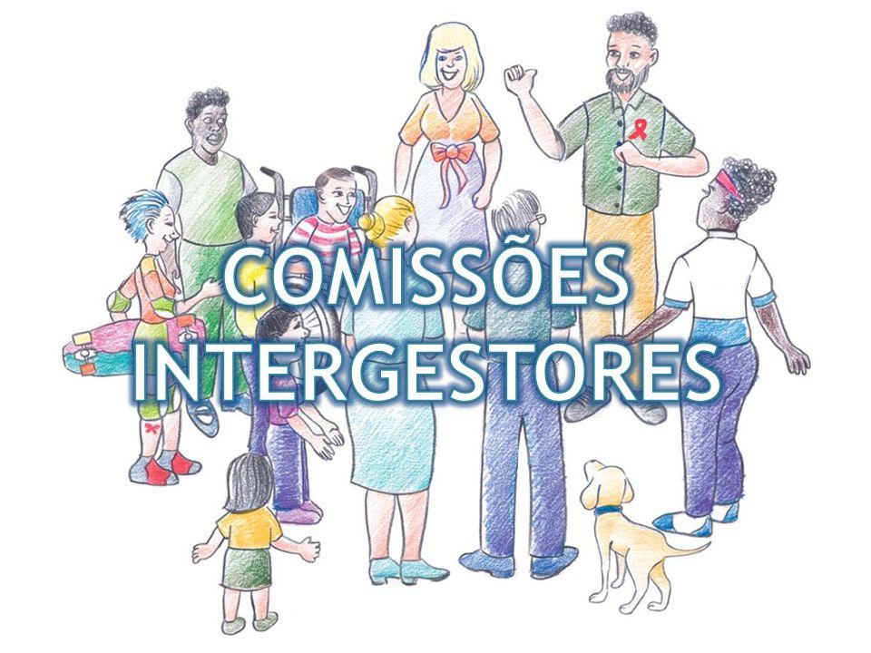 Comissões Intergestores São instâncias que integram a estrutura decisória do SUS.