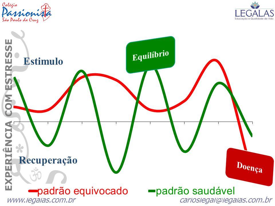 Estimulo Recuperação EXPERIÊNCIA COM ESTRESSE