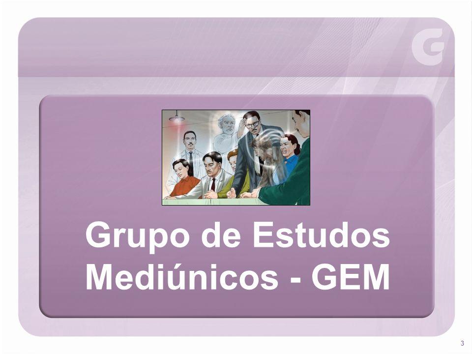 3 Grupo de Estudos Mediúnicos - GEM