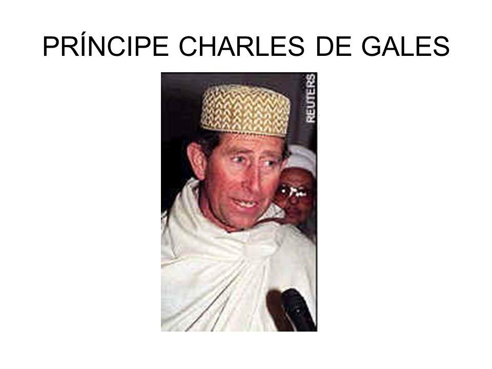 PRÍNCIPE CHARLES DE GALES