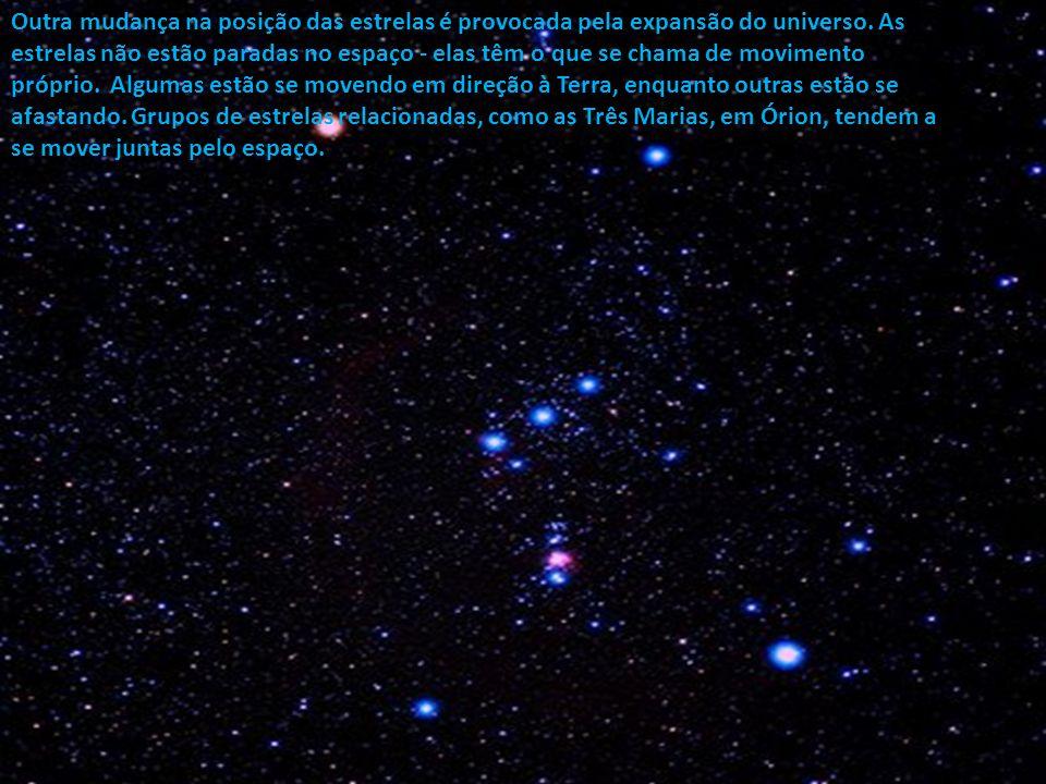 A astronomia é fundamental na Teoria da Correlação de Bauval. Em um ciclo de 26 mil anos, o eixo do nosso planeta oscila levemente e isso leva a uma m