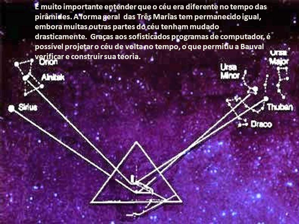 A mudança da posição de uma estrela está em função, entre outras coisas, de sua distância do local de observação. Estrelas que estão muito longe parec