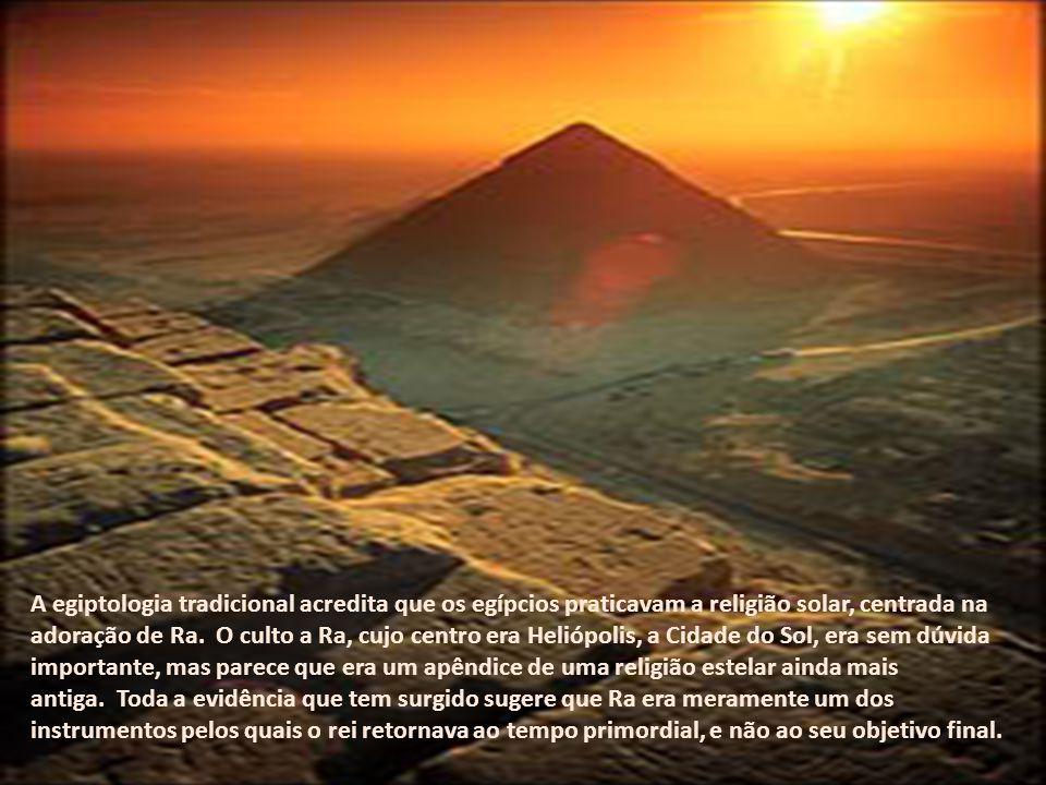 As relações que tal descoberta implica são fascinantes. Os egípcios eram dualistas, tudo em que pensavam e em que acreditavam tinha sua contraparte -