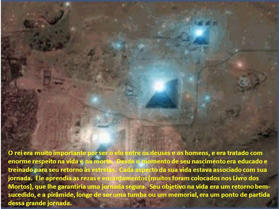 A aplicação da Astronomia ao estudo do Antigo Egito mostra que as estrelas tinham importância definitiva no destino final do rei, como se pode notar p