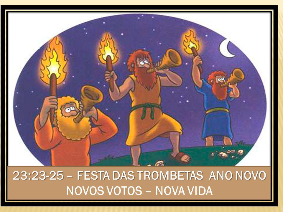 23:23-25 – FESTA DAS TROMBETAS ANO NOVO 23:23-25 – FESTA DAS TROMBETAS ANO NOVO NOVOS VOTOS – NOVA VIDA