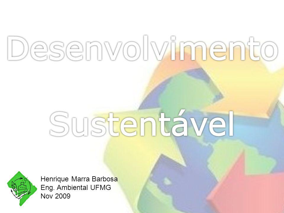 Henrique Marra Barbosa Eng. Ambiental UFMG Nov 2009
