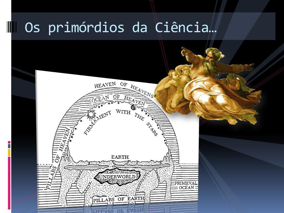 Aristóteles 384-322 a.C.As coisas importantes ocupam uma posição central.