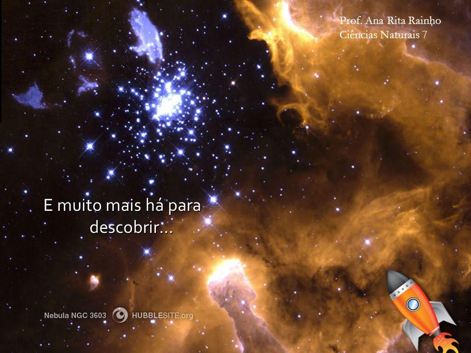 E muito mais há para descobrir… Prof. Ana Rita Rainho Ciências Naturais 7
