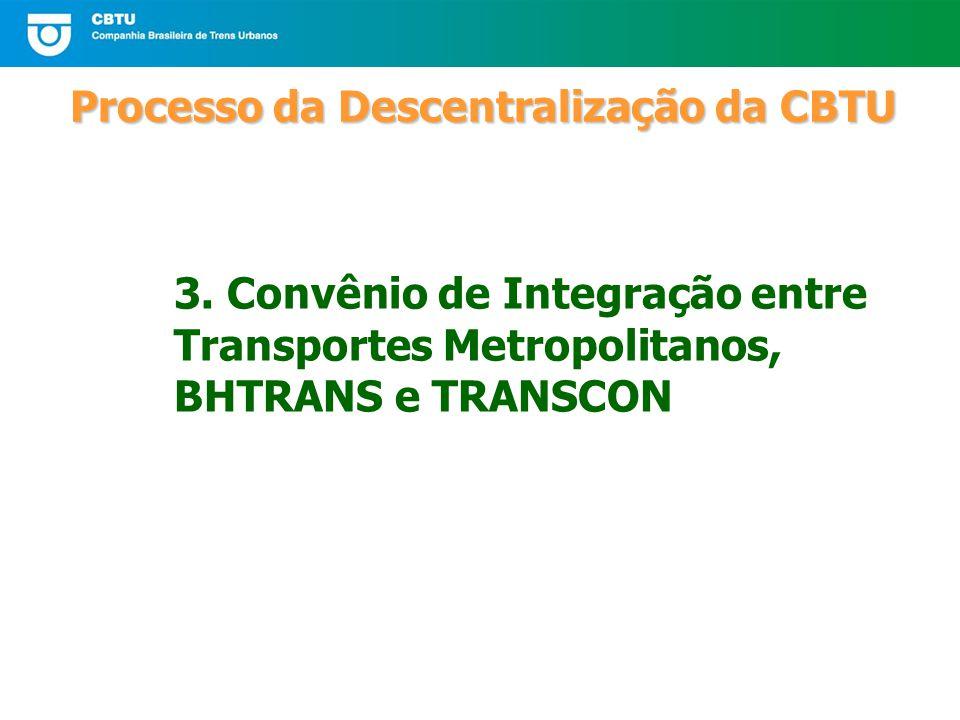 Processo da Descentralização da CBTU 3.