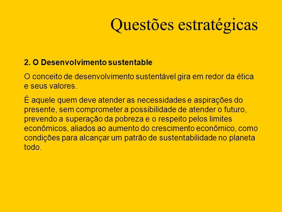 Questões estratégicas 2.