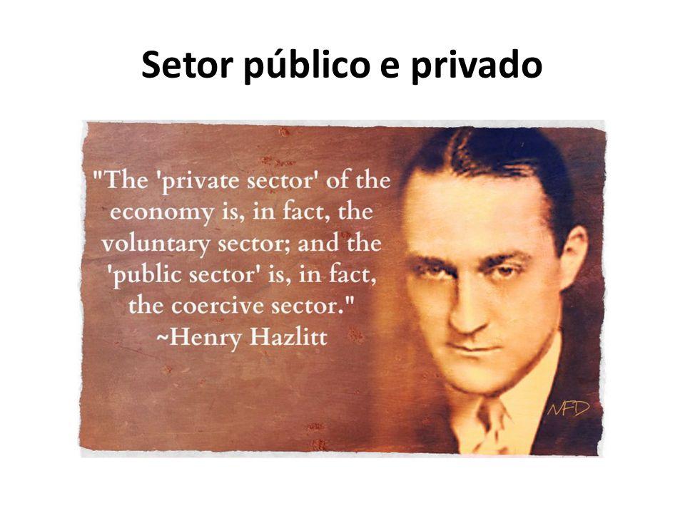 Setor público e privado
