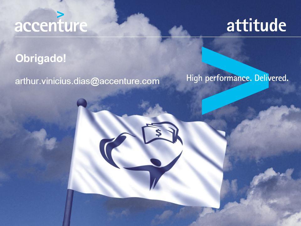 Obrigado! arthur.vinicius.dias@accenture.com