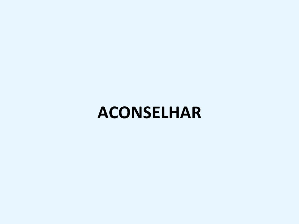 ACONSELHAR