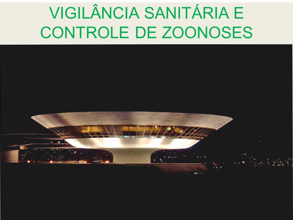 VIGILÂNCIA SANITÁRIA E CONTROLE DE ZOONOSES