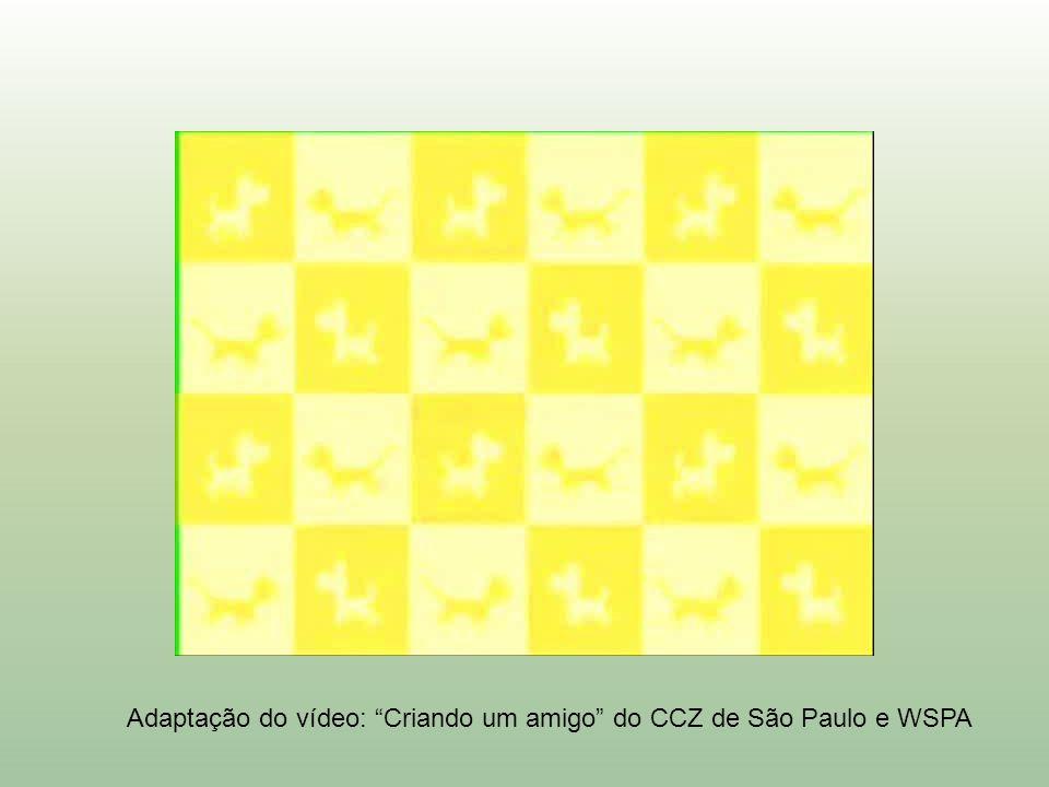 Adaptação do vídeo: Criando um amigo do CCZ de São Paulo e WSPA