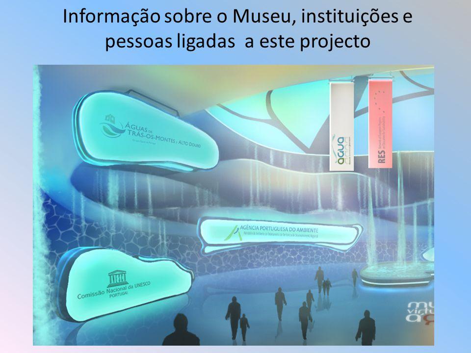 Na sala de Imprensa pode ver vários vídeos relacionados com o museu virtual da água
