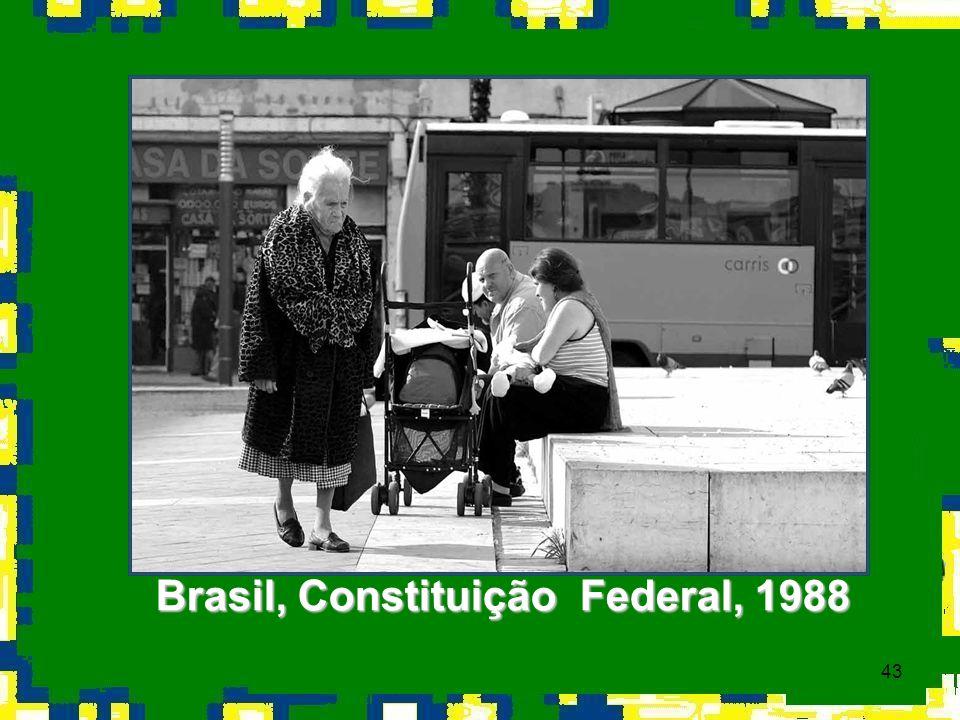 43 Brasil, Constituição Federal, 1988