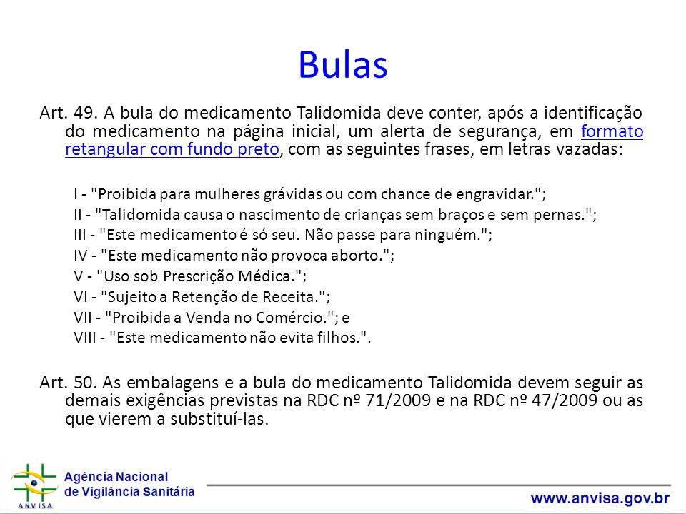 Bulas Art.49.