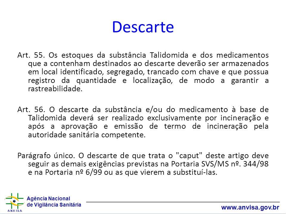 Descarte Art.55.