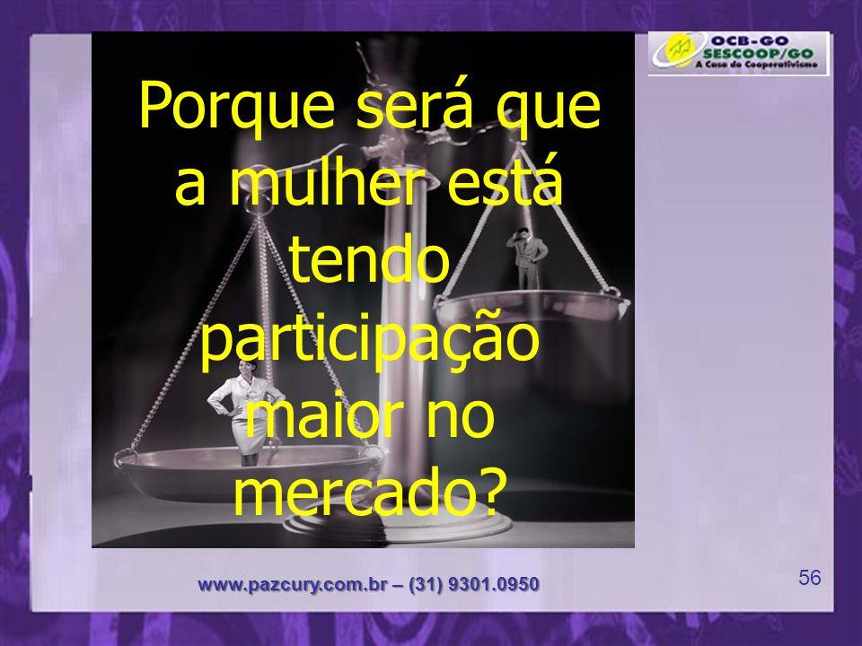 Coração da Paz www.pazcury.com.br – (31) 9301.0950 55 A importância da mulher na sociedade contemporânea