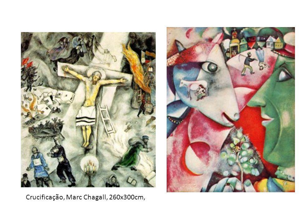 Crucificação, Marc Chagall, 260x300cm,