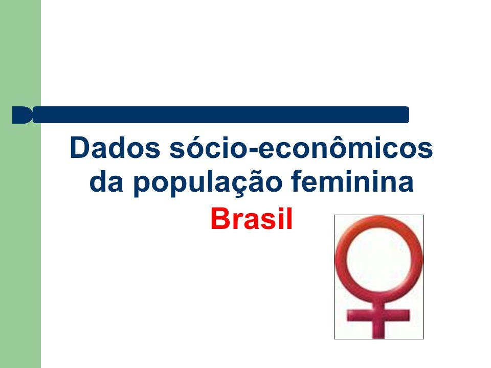 População Masculina 93 042 111 49,1% População Total do Brasil População Feminina 96 293 080 50,9% Fonte: Estimativas preliminares IBGE –Censos Demográficos População alvo População Feminina acima de 10 anos 72.921.373.