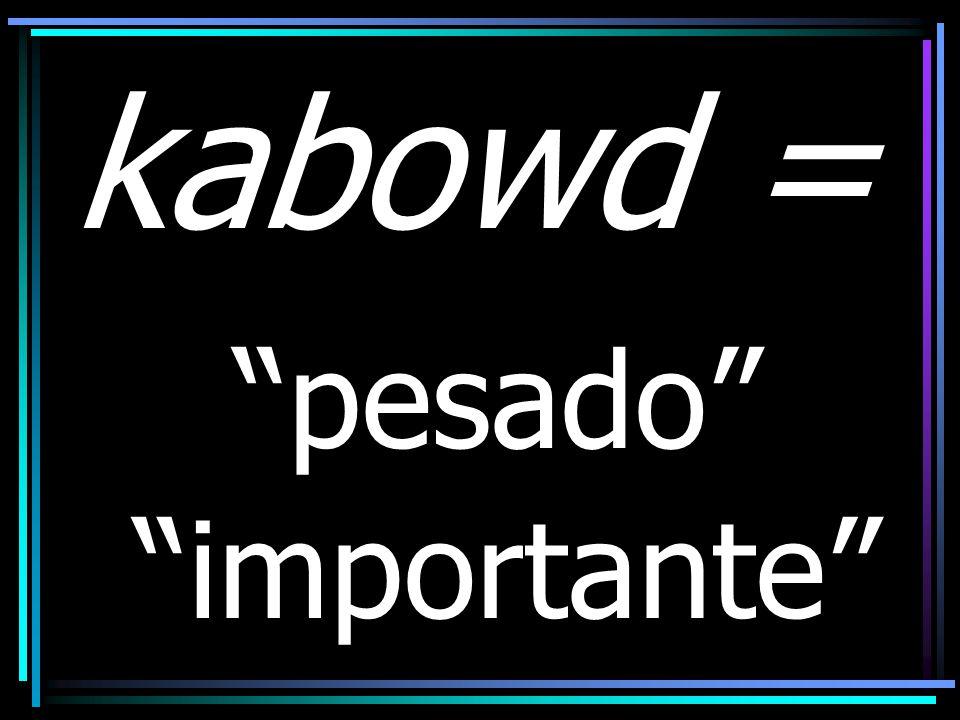 kabowd = glória