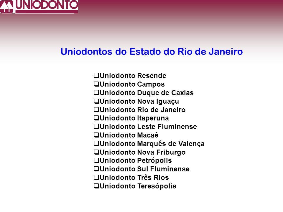 Uniodonto Resende Uniodonto Campos Uniodonto Duque de Caxias Uniodonto Nova Iguaçu Uniodonto Rio de Janeiro Uniodonto Itaperuna Uniodonto Leste Flumin