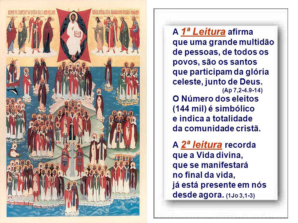 Quem são os santos.- Não são apenas aqueles que estão nos altares, declarados santos pela Igreja.