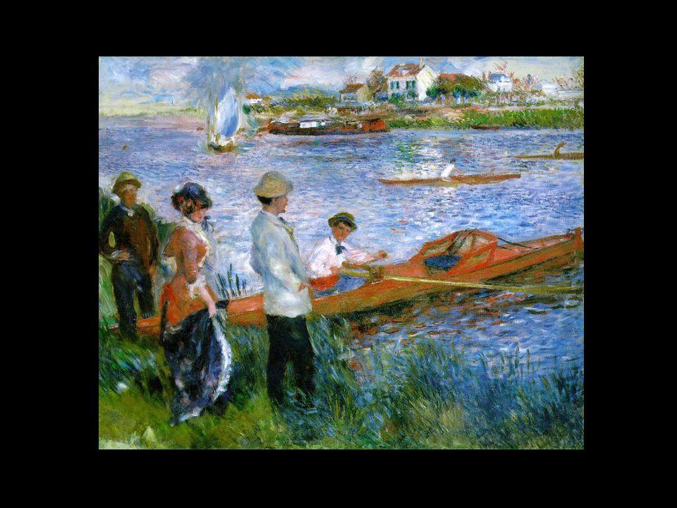 DOIS MOMENTOS Nos últimos 20 anos de sua vida, Renoir sofreu cada vez mais intensamente de artrite e não conseguia segurar o pincel para executar a sua paixão de pintar.