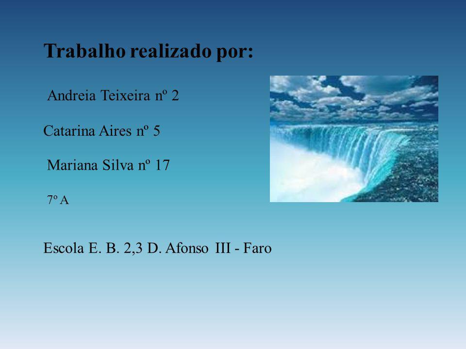 Trabalho realizado por: Andreia Teixeira nº 2 Catarina Aires nº 5 Mariana Silva nº 17 7º A Escola E. B. 2,3 D. Afonso III - Faro