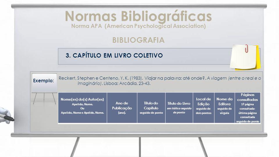 3.CAPÍTULO EM LIVRO COLETIVO Reckert, Stephen e Centeno, Y.