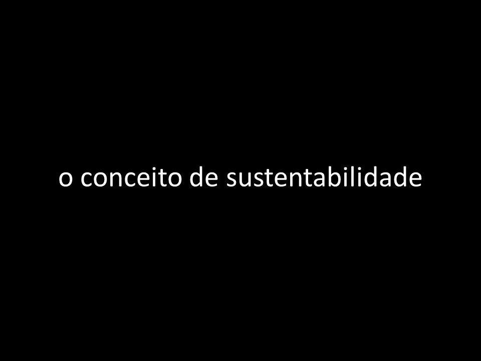 o conceito de sustentabilidade