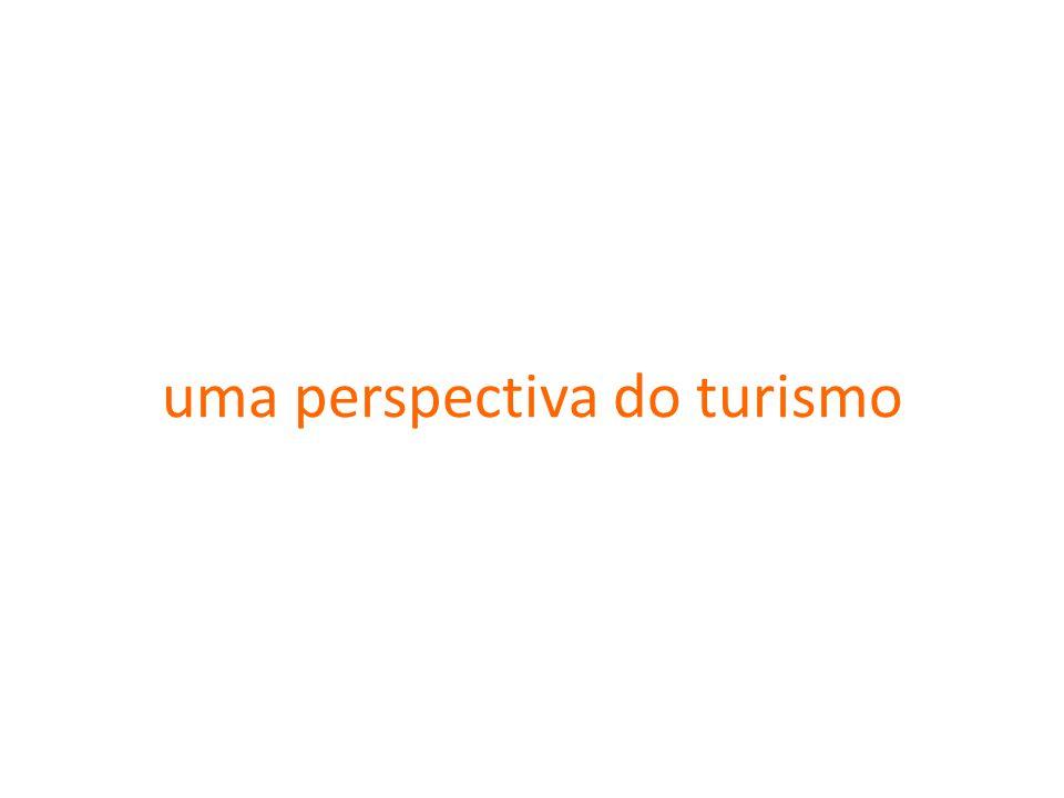 uma perspectiva do turismo