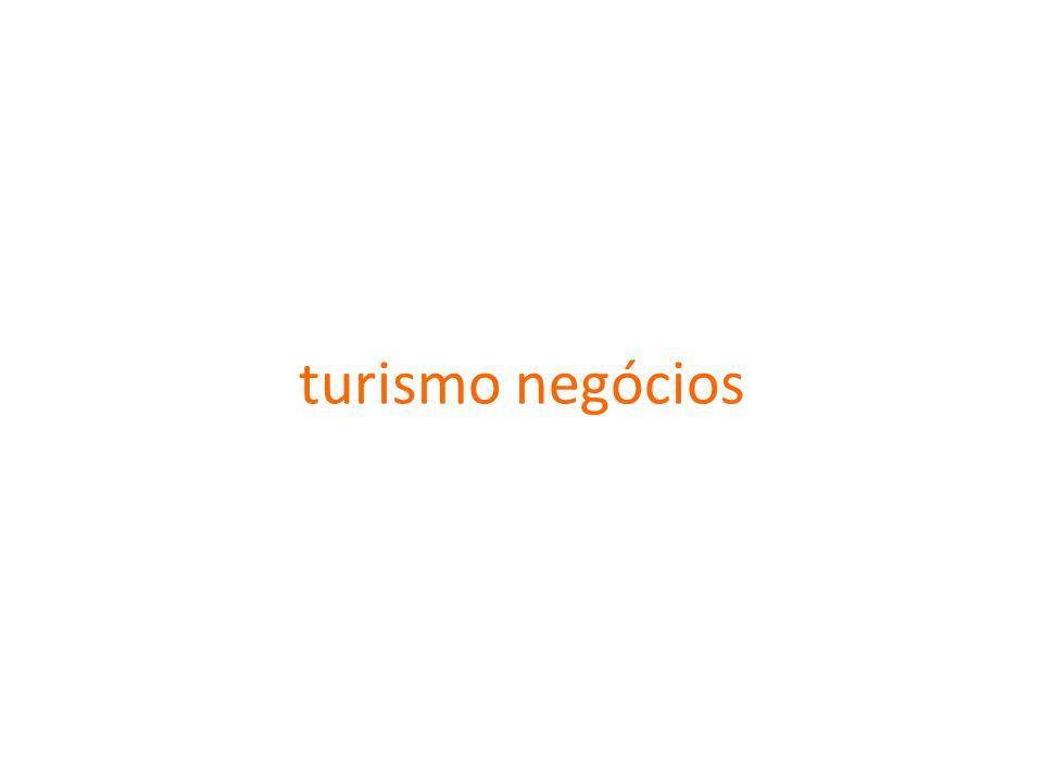 turismo negócios