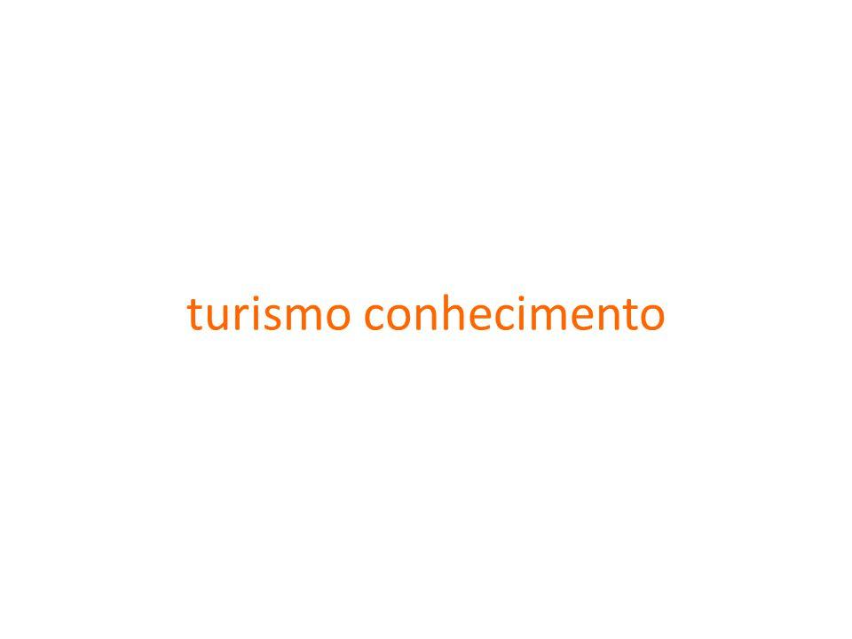 turismo conhecimento
